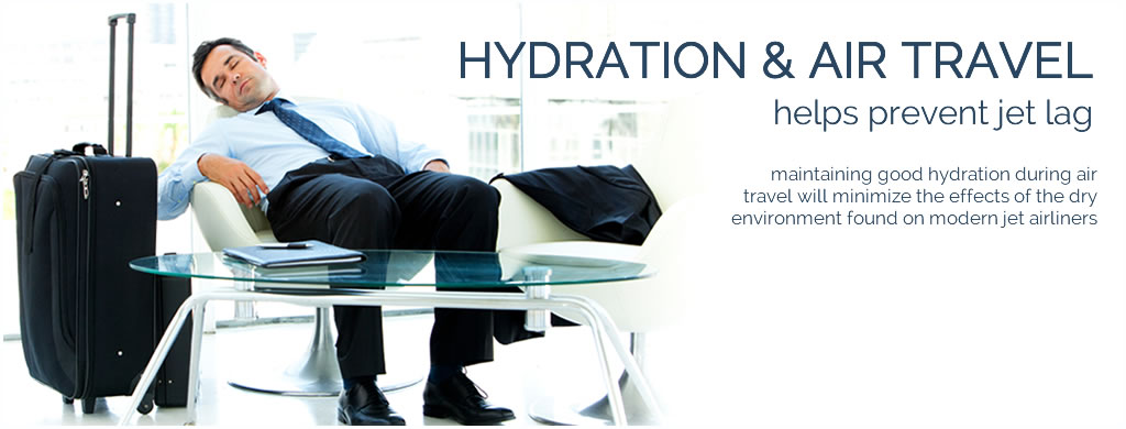 hydration & air travel